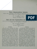 Nova Trypanosomiasis Humana. Carlos Chagas 1909