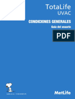 Condiciones Generales Totalife
