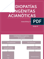 Cardiopatías Congénitas Acianóticas- Arana Ochoa Yasmine