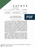 El caballero Zifar, una novela didáctico moral 1972.pdf