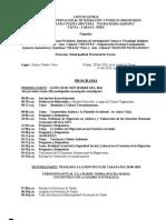 Programa II Seminario Intern Migracion 2010
