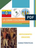 La Gran Colombia Juliana Delgadillo Marzo 2014