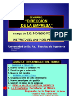 2.1 Factor Economico Clase Horacio Romano