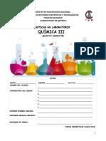 Quimica III TV 2018 Manual