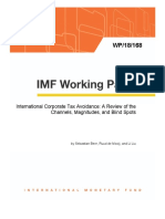 International Corporate Tax Avoidande IMF Wp18168