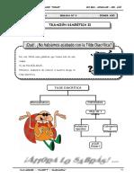 III BIM - LENG - GUIA Nº3 - TILDACIÓN DIACRITICA II.doc