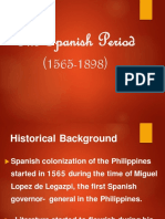 2.1 the Spanish Period 1565 1898