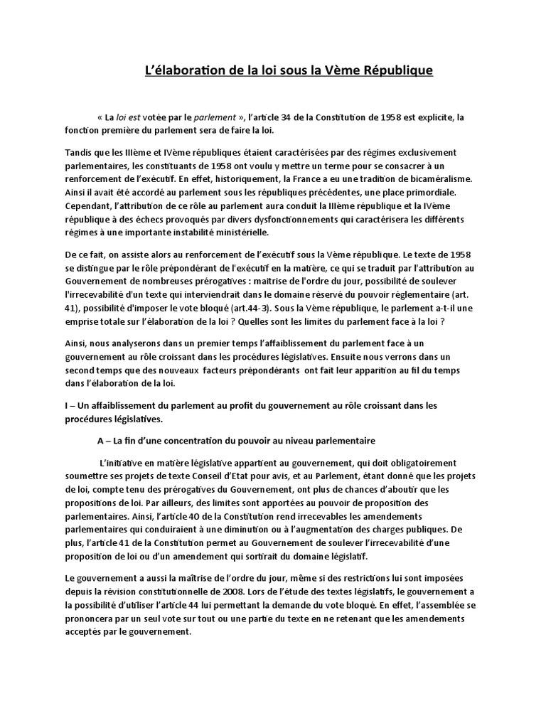 Dissertation plan analytique