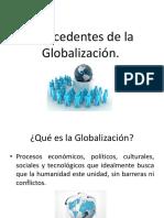 Antecedentes de La Globalización