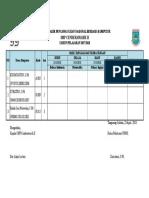 Contoh Program Latihan Futsal