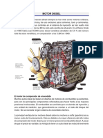 MOTOR DIESEL y Turbocompresor