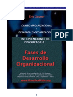 Cambio Organizacional y Desarrollo Organizacional