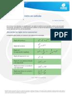 Multiplicacinydivisinconradicales