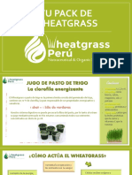 Wheatgrass Peru Brochure