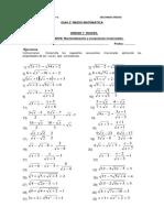 Guia Matematica Ecuaciones Irracionales 22-04-2016