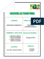 Energias No Convencionales