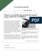Guía Clase 17 Unidad 1Texto Informativo 5tº