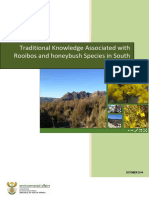 Traditional Knowledge Associated With Rooibos and Honeybush Species in South Africa