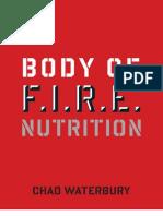 Body of F.I.R.E. Nutrition Guide