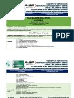 Balance de Materia y Energía_planeación Didáctica_unidad 2_nuevo Formato