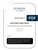 Investment Bank Fraud Documented
