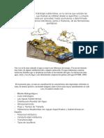 GEOLOGIA Conceptos Hidrogeologicos
