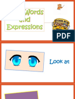 Class Words and Expressions Worksheet Templates Layouts 106162