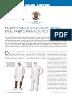 La Importancia de Las Salas Limpias en El Ambito Farmaceutico