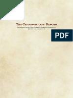 The Critonomicon