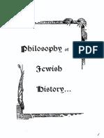 Deutch Gotthard - Philosophy of Jewish History