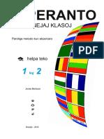 Esperanto Por Lernantoj Klasoj - Helpa Teko 1