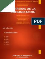 Barreras de La Comunicación!