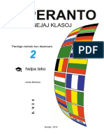 Esperanto Por Lernantoj Klasoj - Helpa Teko 2