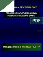 Materi Pelatihan Penulisan PKMT