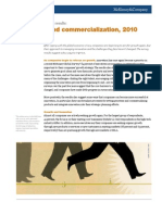 McKinsey Global Survey - Innovation and Commercialization 2010