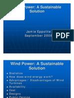 Wind Power Power Point