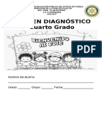 EXAMEN DIAGNOSTICO CUARTOS
