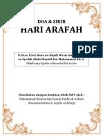 Doa Pada Hari Arafah
