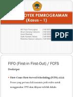 Presentation Tugas Proyek Pemrograman [Kasus 1]