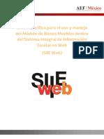 C 024 Guía para el uso del SIIEWEB_Modulo Bienes Muebles