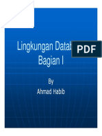 Lingkungan Database Bagian 1