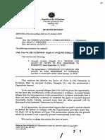 Demurrer to Evidence Sandiganbayan