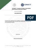 Aviso-Publicacion Resultados SENER Sust