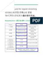 How to request for regular streaming.pdf