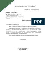 CARTA - SOLICITO CERTIFICADO DE TRABAJO.docx