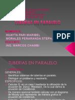 Diapositivas Tuberias en Paralelo