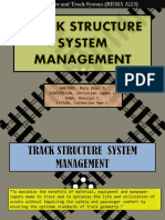 Track Structure System Management