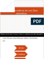 Estructura de La Obra Dramática1