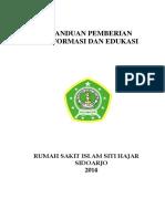 Panduan Pemberiaan Informasi Dan Edukasi RSI Fix