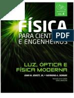 Física Para Cientistas e Engenheiros Vol.4_ Luz, Óptica e Física Moderna